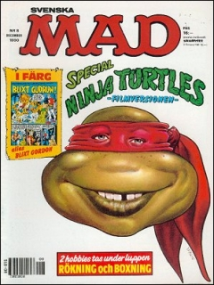 Go to MAD Magazine #8 1989 • Sweden