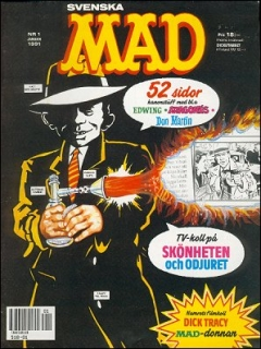 Go to MAD Magazine #1 1990 • Sweden