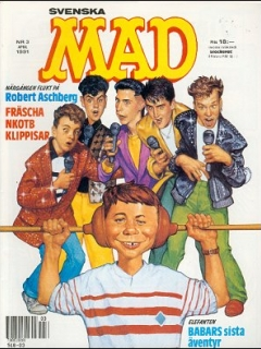 Go to MAD Magazine #3 1990 • Sweden