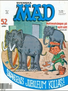 Go to MAD Magazine #4 1990 • Sweden