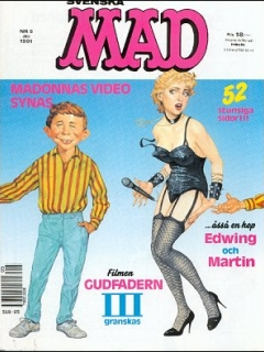 Go to MAD Magazine #5 1990 • Sweden