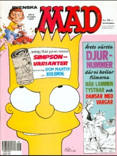 Go to MAD Magazine #6 1990 • Sweden