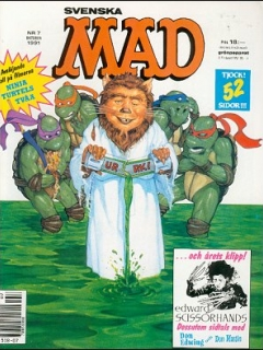 Go to MAD Magazine #7 1990 • Sweden