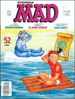 MAD Magazine #1 • Sweden