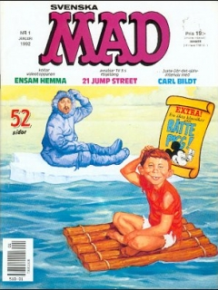 Go to MAD Magazine #1 1991 • Sweden