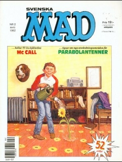 Go to MAD Magazine #2 1991 • Sweden