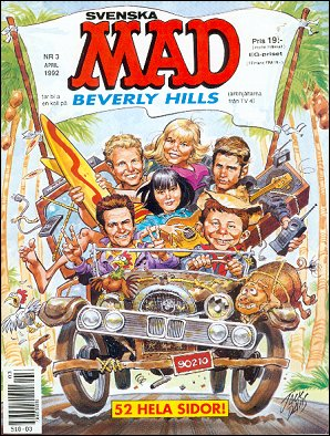 MAD Magazine #290 • Sweden