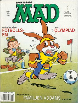 MAD Magazine #291 • Sweden