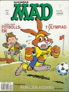 Go to MAD Magazine #4 1991 • Sweden