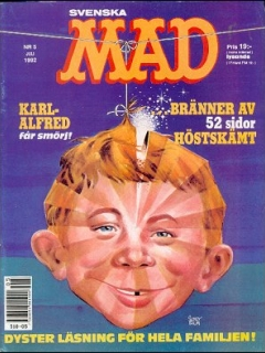 Go to MAD Magazine #5 1991 • Sweden