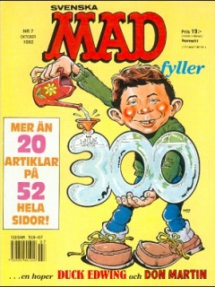 Go to MAD Magazine #294 • Sweden