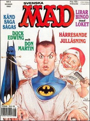 MAD Magazine #8 1991 • Sweden