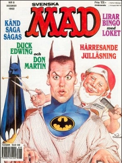 Go to MAD Magazine #295 • Sweden