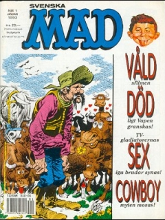 Go to MAD Magazine #1 1992 • Sweden
