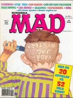 Go to MAD Magazine #2 1992 • Sweden