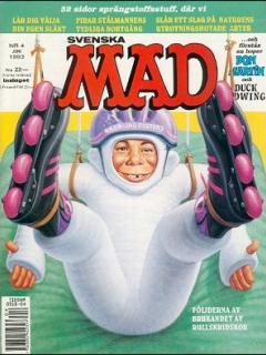 Go to MAD Magazine #4 1992 • Sweden