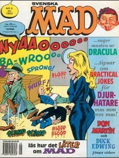 Go to MAD Magazine #5 1992 • Sweden