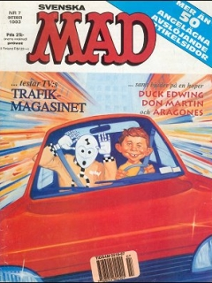 Go to MAD Magazine #7 1992 • Sweden