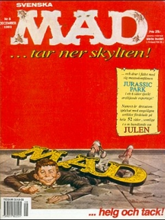 Go to MAD Magazine #8 1992 • Sweden