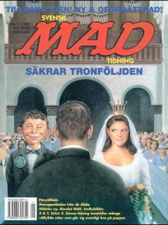 Go to MAD Magazine #1 1996 • Sweden
