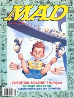 Go to MAD Magazine #1 1997 • Sweden