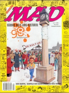 Go to MAD Magazine #2 1997 • Sweden