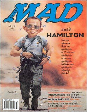 MAD Magazine #308 • Sweden
