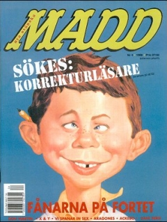 Go to MAD Magazine #4 1997 • Sweden