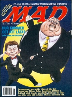 Go to MAD Magazine #6 1997 • Sweden
