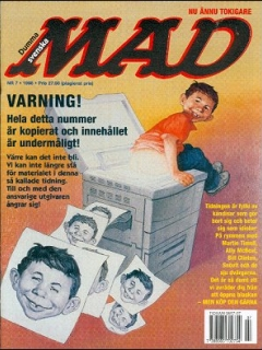 Go to MAD Magazine #7 1997 • Sweden