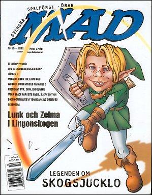 MAD Magazine #315 • Sweden