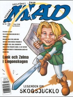 Go to MAD Magazine #10 1997 • Sweden