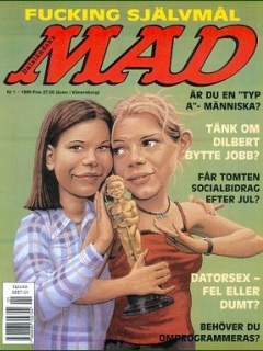 Go to MAD Magazine #1 1998 • Sweden
