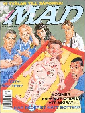 MAD Magazine #317 • Sweden