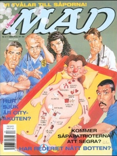 Go to MAD Magazine #317 • Sweden