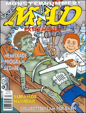 MAD Magazine #318 • Sweden
