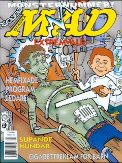 Go to MAD Magazine #318 • Sweden