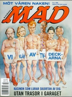 Go to MAD Magazine #4 1998 • Sweden