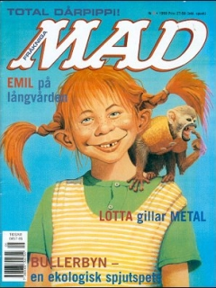 Go to MAD Magazine #5 1998 • Sweden