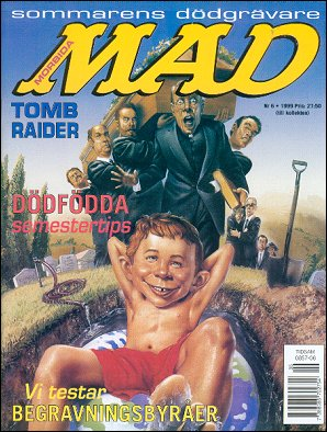 MAD Magazine #321 • Sweden