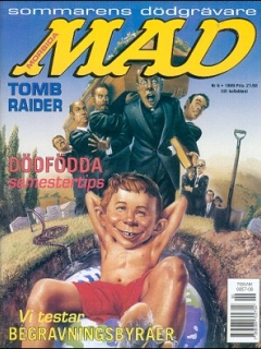 Go to MAD Magazine #6 1998 • Sweden