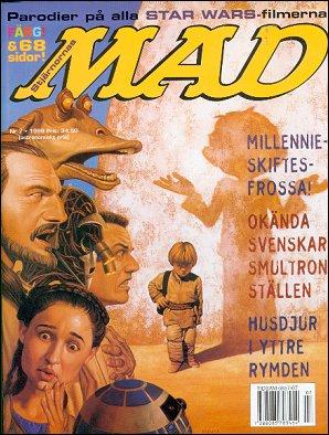 MAD Magazine #7 1998 • Sweden