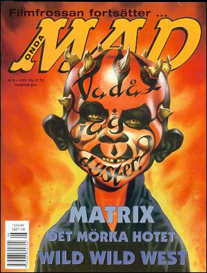 MAD Magazine #8 1998 • Sweden