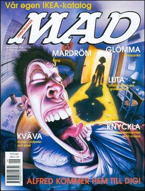 MAD Magazine #324 • Sweden