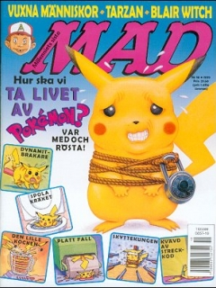 Go to MAD Magazine #10 1998 • Sweden