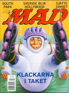 Go to MAD Magazine #1 1999 • Sweden