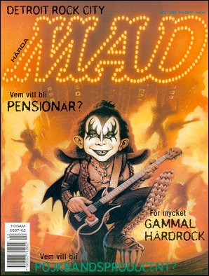 MAD Magazine #327 • Sweden