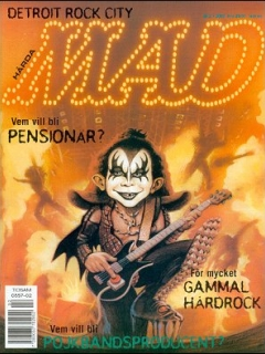 Go to MAD Magazine #2 1999 • Sweden