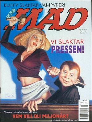 MAD Magazine #3 • Sweden