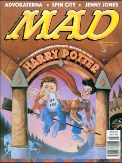 Go to MAD Magazine #5 1999 • Sweden